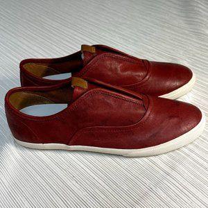 Frye Maya Cvo Slip On RED Sneaker New 9 $160